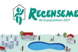 L'INSEE vient d'annoncer que le recensement de la population prévu en 2021 est reporté en 2022.