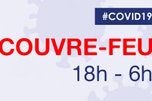 Couvre-feu 18h-6h