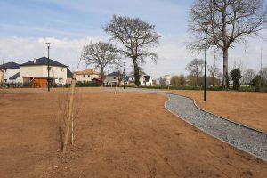Aménagements de l'espace vert du lotissement de l'orée du bois