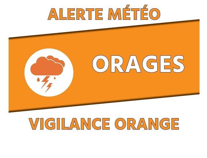 ALERTE ORANGE METEO – 16/06/2021