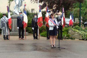 Cérémonie de la Libération de SAINT-MANVIEU-NORREY – 03/07/2021